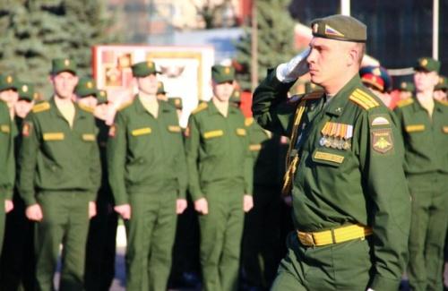Офицер в военной форме