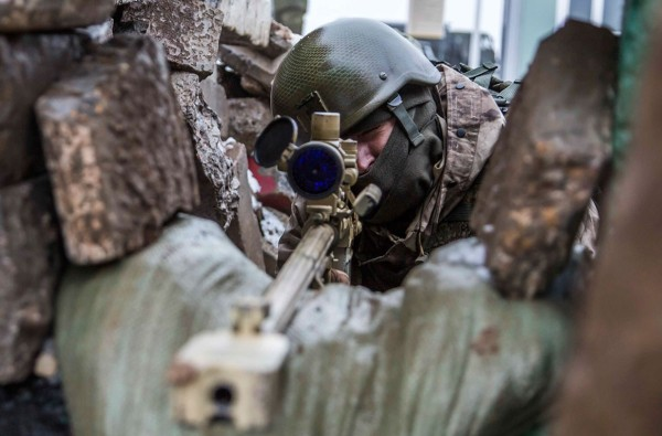 Стрельба из противотанкового ружья