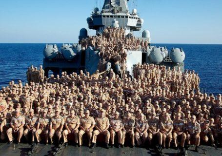 Служба по контракту в ВМФ