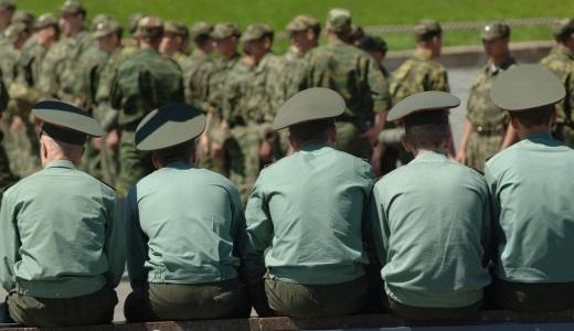 Офицеры и солдаты