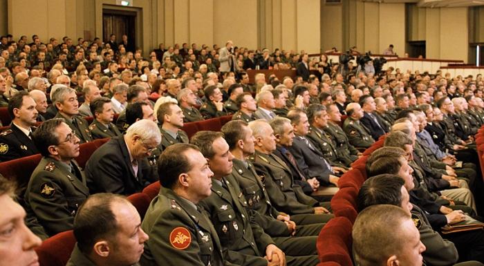 Офицеры армии России