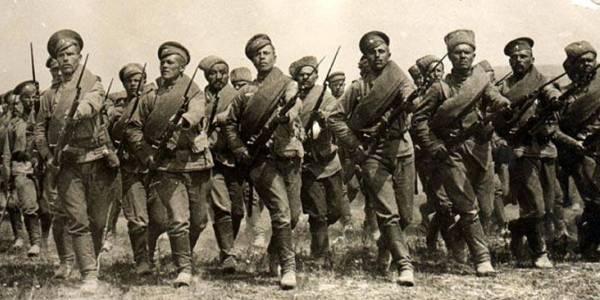 Пехота на марше