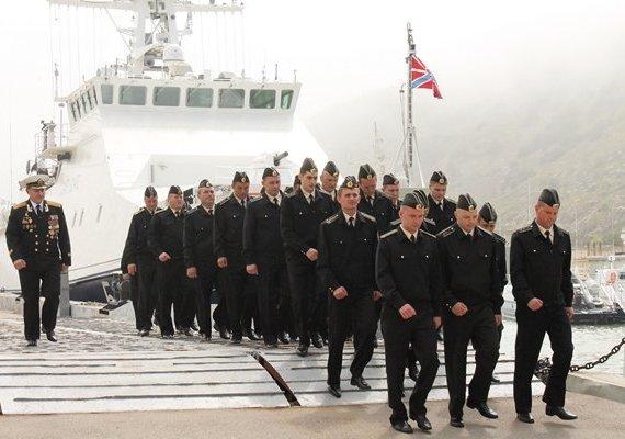 Военнослужащие ВМФ