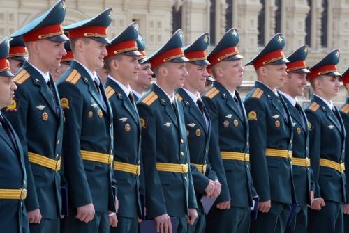 Офицеры ВС РФ