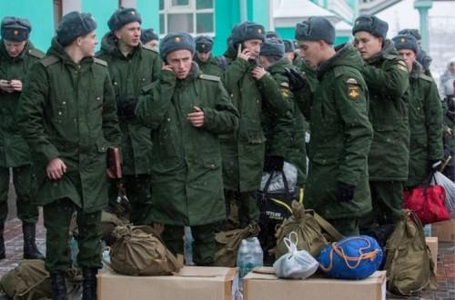 Подготовка к отправке в военную часть