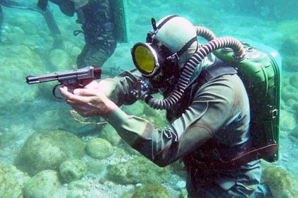 Работа под водой