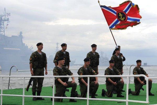 Выступление военнослужащих