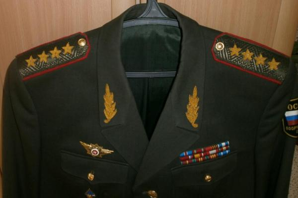 Генеральский китель