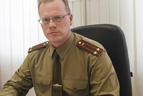 Офицер в штабе