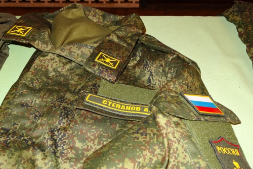 Современная форма солдат РФ