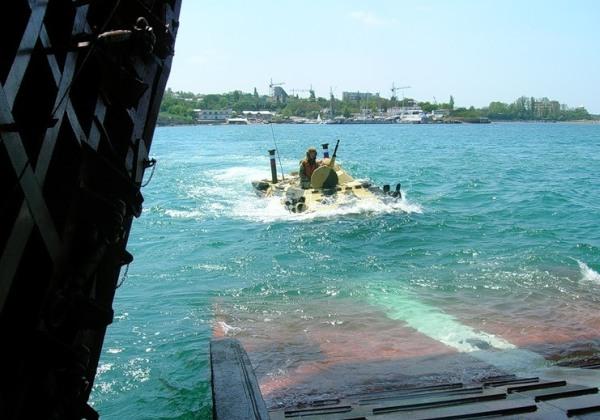 Учения на Черном море