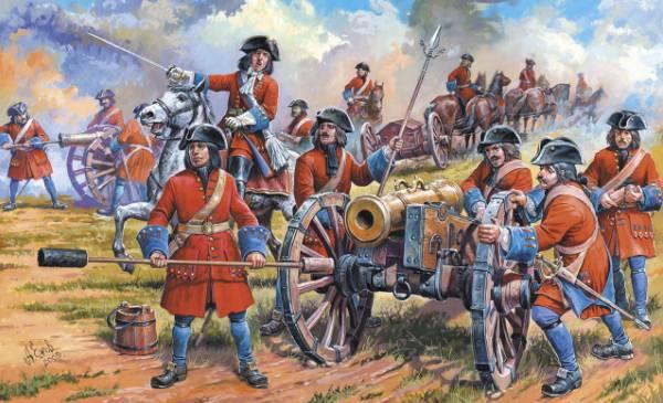 Солдаты петровских времен