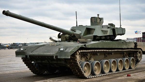 Отечественный танк