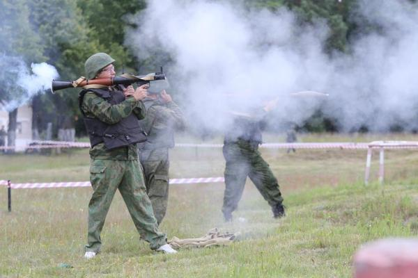 Стрельба из разных видов оружия