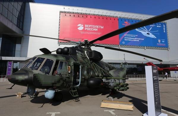 Выставочный вертолет