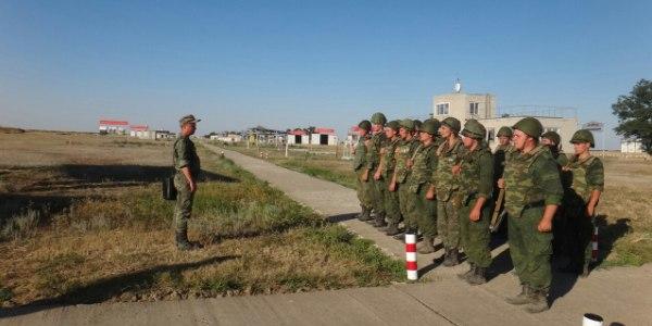 Построение на военных сборах