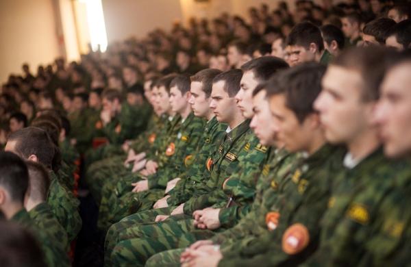 Студенты на собрании