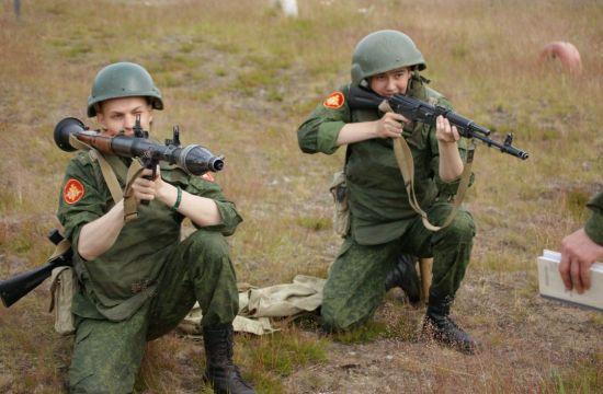 Обучение обращению с оружием