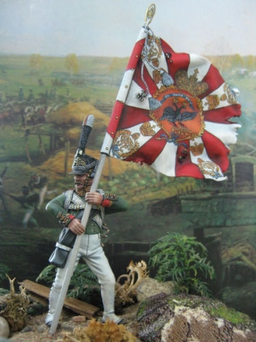 Знаменосец царской армии