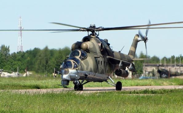 Транспортно-боевой Ми-24ВМ