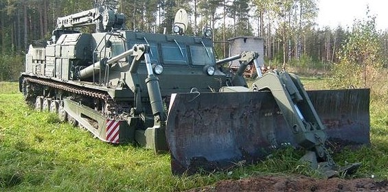 Путепрокладчик «БАТ-2»