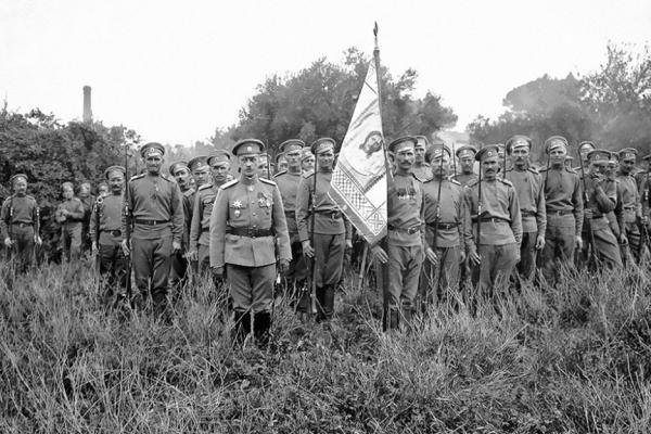 Военнослужащие времен Первой мировой