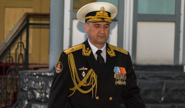 Контр-адмирал Игорь Осипов начальник штаба Тихоокеанского флота
