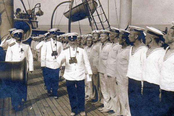 Корабль в 20 веке