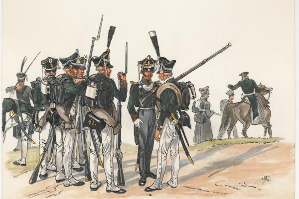 Национальная гвардия во Франции в 18 веке